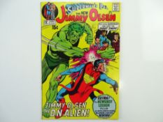 SUPERMAN'S PAL: JIMMY OLSEN # 136 (1971 - DC - Cents Copy with Pence Stamp) - Third appearance of