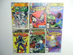 AMAZING SPIDER-MAN # 222, 223, 224, 225, 226, 227 (Group of 6) - (1981/82 - MARVEL - Cents & Pence