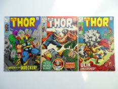 THOR # 171, 172, 173 (Group of 3) - (1969 - MARVEL - Pence Copy) - Jack Kirby cover and interior art