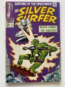 SILVER SURFER # 2 - (1968 - MARVEL - Cents Copy) - First appearance of the Brotherhood of Badoon +