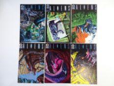 ALIENS # 1, 2, 3, 4, 5, 6 (Group of 6) - (1988/89 - DARK HORSE Cents Copy) - Complete set of all 6