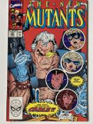 NEW MUTANTS # 87 (1990 FIRST PRINT - MARVEL - Cents/Pence Copy) - First full appearance of Cable +