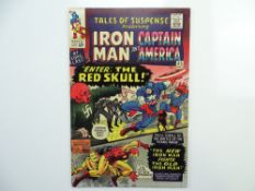 TALES OF SUSPENSE # 65 (1965 - MARVEL - Cents Copy) - First Silver Age appearance of the Red Skull -