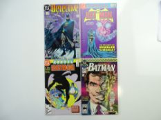 BATMAN LOT (Group of 4) - DETECTIVE # 600 + BATMAN ANNUAL # 10, 11, 14 (1986-90 - DC - Cents/Pence