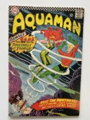 AQUAMAN # 26 - (1966 - DC - Cents Copy with Pence Stamp) - First appearances of O.G.R.E., Typhoon,