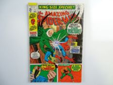 AMAZING SPIDER-MAN: KING-SIZE SPECIAL # 7 - (1970 - MARVEL - Cents Copy with Pence Stamp) - Cover by