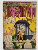 ADVENTURES INTO THE UNKNOWN # 75 - (1956 - ACG CENTS Copy) - Ogden Whitney cover - Flat/Unfolded - a