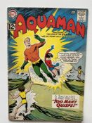 AQUAMAN # 6 - (1962 - DC - Cents Copy) - Nick Cardy cover and interior art - Flat/Unfolded - a