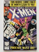 "UNCANNY X-MEN # 137 - (1980 - MARVEL CENTS Copy) - The Dark Phoenix Saga concludes - ""Death"" of"