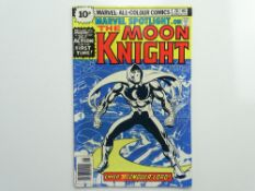 MARVEL SPOTLIGHT # 28 - (1976 - MARVEL - Pence Copy) - Moon Knight's first solo story, his first
