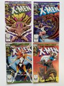 UNCANNY X-MEN #162, 163, 164, 165 (Group of 4) - (1982/83 - MARVEL Cents/Pence Copy) - First