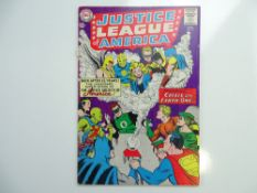 JUSTICE LEAGUE OF AMERICA # 21 (1963 - DC - Cents Copy) - A key issue with 'Crisis on Earth-One',