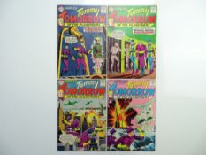 SHOWCASE: TOMMY TOMORROW # 42, 44, 46, 47 (Group of 4) - (1963 - DC - Cents Copy) - Flat/