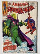 AMAZING SPIDER-MAN # 66 (1968 - MARVEL - Cents Copy) - Spider-Man battles Mysterio. + Green Goblin