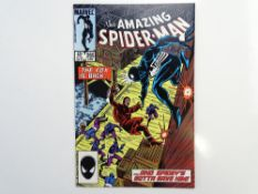 AMAZING SPIDER-MAN # 265 - (1985 - MARVEL - Cents/Pence Copy) - First appearance of Silver Sable -