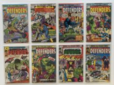 DEFENDERS # 31, 32, 33, 34, 35, 36, 75, 76 (Group of 8) - (1976/79 - MARVEL Pence Copy) - Flat/