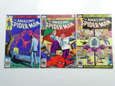 AMAZING SPIDER-MAN # 196, 197, 199 (Group of 3) - (1979 - MARVEL - Cents Copy) - Flat/Unfolded - a