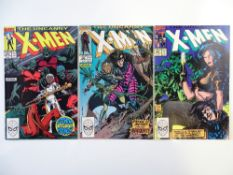UNCANNY X-MEN # 265, 266, 267 (Group of 3) - (1990 - MARVEL - Cents/Pence Copy) - FIRST FULL