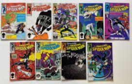 AMAZING SPIDER-MAN # 277, 278, 280, 286, 288, 291, 292, 295, 297 (Group of 9) - (1986/87 -