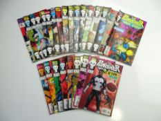 PUNISHER: WAR ZONE # 1 - 25 (Group of 25) - (1992/93 MARVEL Cents/Pence Copy) - Complete early run