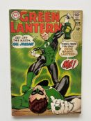 GREEN LANTERN # 59 - (1968 - DC - Cents Copy with Pence Stamp) - First appearance of Guy Gardner -