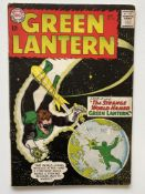 GREEN LANTERN # 24 - (1963 - DC - Cents Copy) - Origin and first appearance of the Shark - Gil