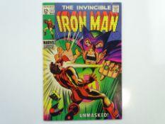 IRON MAN # 11 (1969 - MARVEL - Cents Copy with Pence Stamp) - Iron Man vs. Mandarin - George
