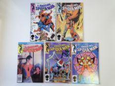 AMAZING SPIDER-MAN # 260, 261, 262, 263, 264 (Group of 5) - (1984/85 - MARVEL - Cents/Pence