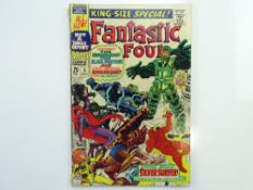 FANTASTIC FOUR KING-SIZE # 5 - (1967 - MARVEL - Cents Copy) - First Silver Surfer solo story + First