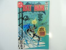 BATMAN # 341 - SIGNED - (1981 - DC - Cents/Pence Copy) - MULTI-SIGNED BY 6 - Signed (to front cover)