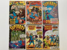 SUPERMAN'S PAL: JIMMY OLSEN, SUPERBOY, WORLD'S FINEST LOT (Group of 6) - (DC Cents & Cents with