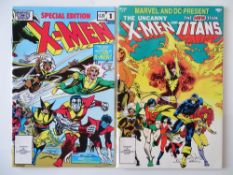 X-MEN LOT (Group of 2) to include X-MEN: SPECIAL EDITION #1 (1983 Cents Copy) & X-MEN & TEEN