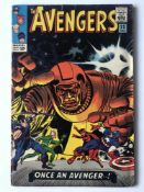 AVENGERS # 23 (1965 - MARVEL - Cents Copy) - Kang appearance - Jack Kirby cover with Don Heck and