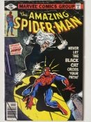 AMAZING SPIDER-MAN # 194 (1979 - MARVEL - Cents Copy) - First appearance of the Black Cat + Mysterio