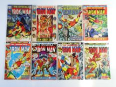 IRON MAN # 14, 18, 31, 49, 57, 60, 63, 65 (8 in Lot) - (1969/73 - MARVEL Cents & Pence Copy) -