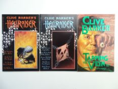CLIVE BARKER HORROR LOT (Group of 3) to include HELLRAISER #1 & 2 (1989/90 - EPIC) + TAPPING THE