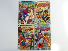 AMAZING SPIDER-MAN # 167, 168, 170, 172 (Group of 4) - (1977 - MARVEL - Cents Copy) - Flat/