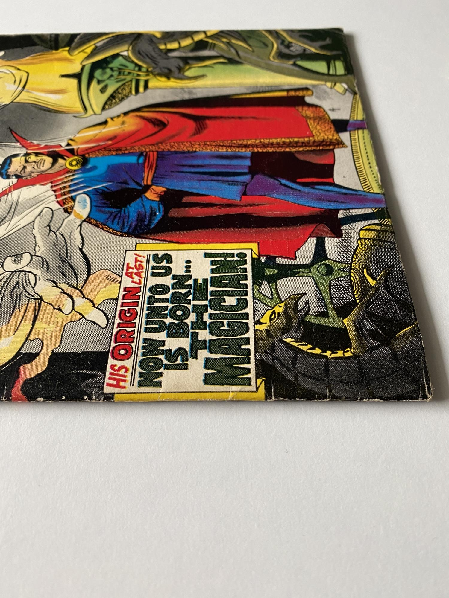 Lot 1 - DOCTOR STRANGE #169 - (1968 - MARVEL - Cents Copy with Pence Stamp) - Debut issue of Doctor