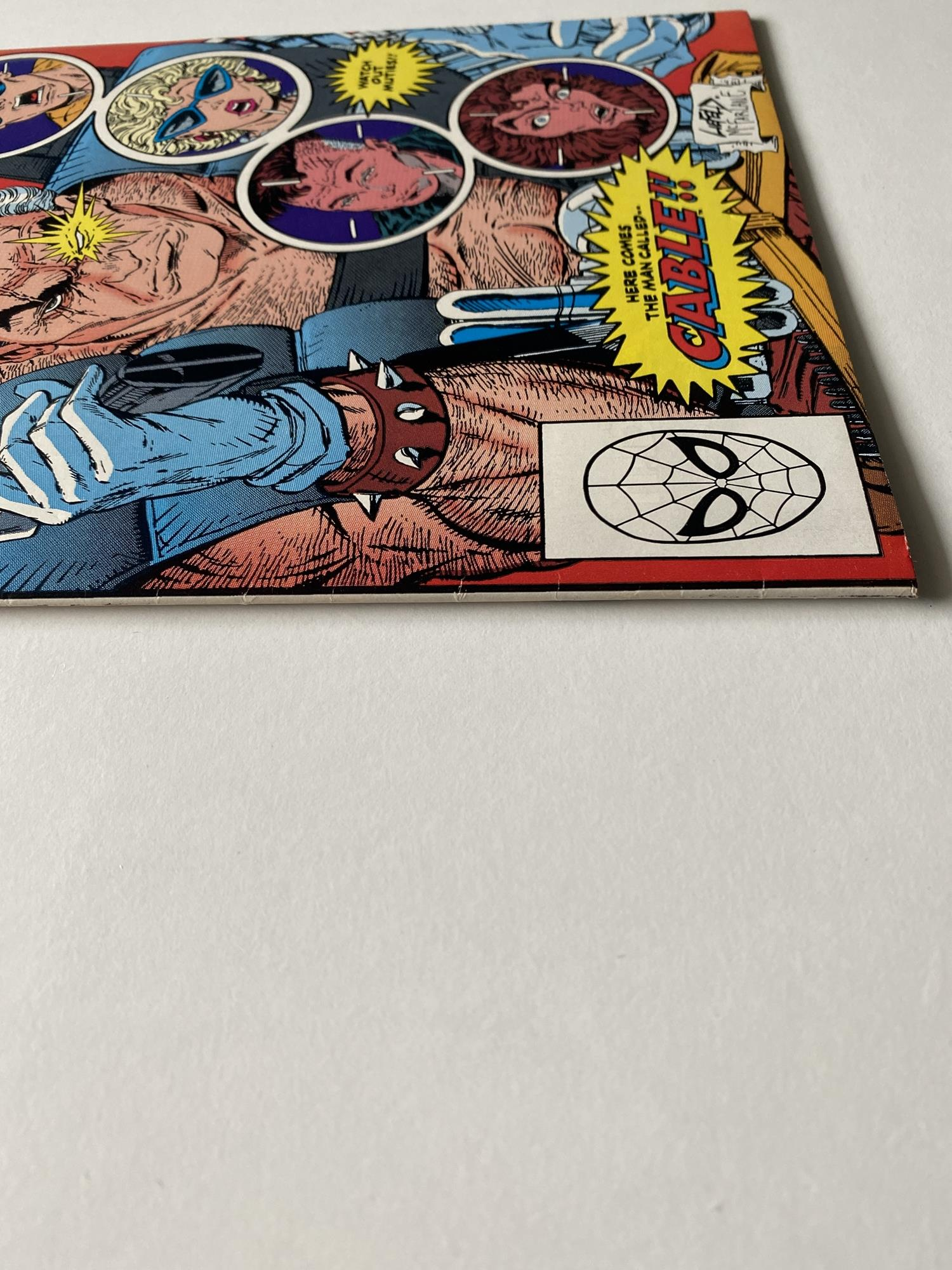 Lot 30 - NEW MUTANTS # 87 (1990 FIRST PRINT - MARVEL - Cents/Pence Copy) - First full appearance of Cable +