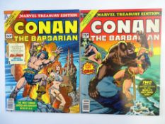 CONAN MARVEL TREASURY EDITIONS LOT (Group of 2) - (1977/78 - MARVEL Pence Copy) - Lot includes #15