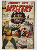 JOURNEY INTO MYSTERY # 92 - (1963 - MARVEL - Pence Copy) - Thor and Loki cover by Jack Kirby + Steve