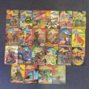 STAR LORD LOT #1 - 22 (Group of 22) - (1978 - IPC MAGAZINES Pence Copy) - Lot includes a complete
