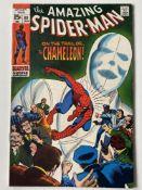 AMAZING SPIDER-MAN # 80 (1970 - MARVEL - Cents Copy) - Chameleon appearance - John Romita Sr.