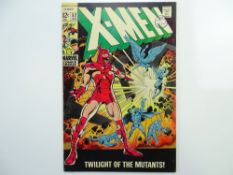 UNCANNY X-MEN # 52 - (1969 - MARVEL - Cents Copy with Pence Stamp) - First full appearance of Erik