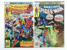 AMAZING SPIDER-MAN # 174 & 175 (Group of 2) - (1977 - MARVEL - Cents Copy) - Punisher and Hitman