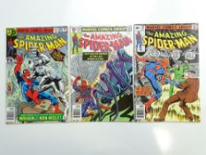 AMAZING SPIDER-MAN # 190, 191, 192 (Group of 3) - (1979 - MARVEL - Cents Copy) - Flat/Unfolded - a