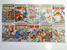 IRON MAN # 82, 83, 84, 86, 87, 89, 90, 91, 92, 93 (10 in Lot) - (1976 - MARVEL Pence & Cents Copy) -