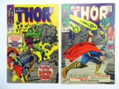 THOR # 142 & 143 (Group of 2) - (1967 - MARVEL - Pence Copy) - Thor battles the Super-Skrull + ""