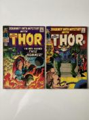 THOR # 120 & 122 (Group of 2) - (1965 - MARVEL - Pence Copy) - Jack Kirby cover and interior art -