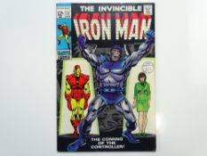 IRON MAN # 12 (1969 - MARVEL - Cents Copy with Pence Stamp) - First appearance and Origin of The